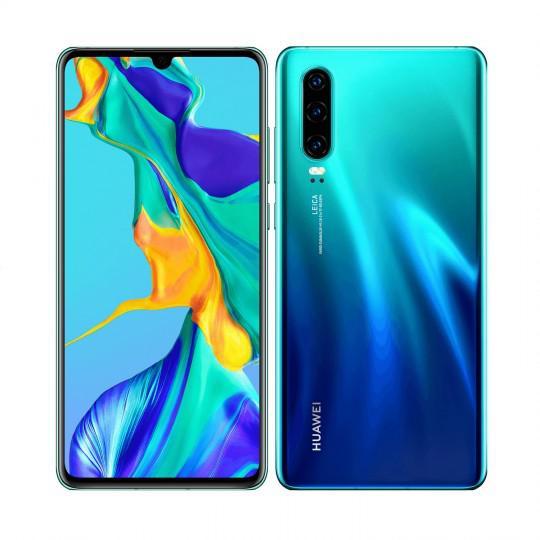 Huawei p30 aurora 128gb - beautiful condition - get it