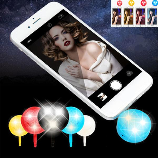Mini portable 3.5mm 4-in-1 cold-warm 3 led fill light lamp