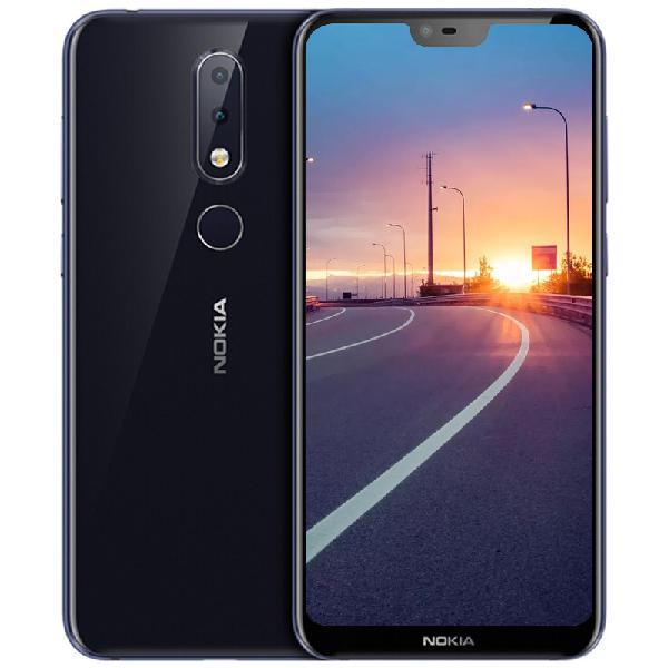 Nokia x6 phablet - blue,us plug - 0.45kg