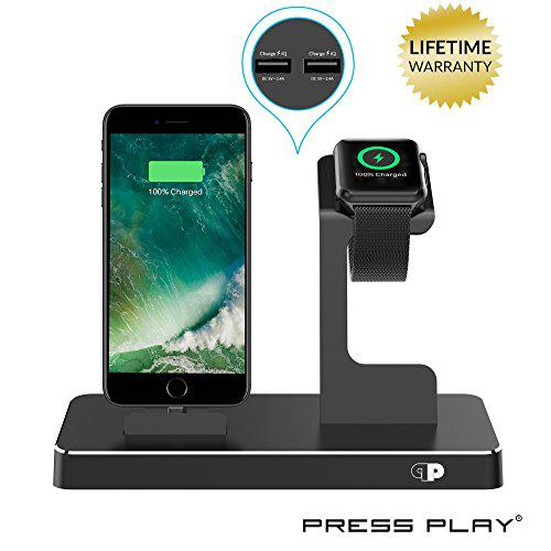 One dock power station dock, stand & charger for apple watch