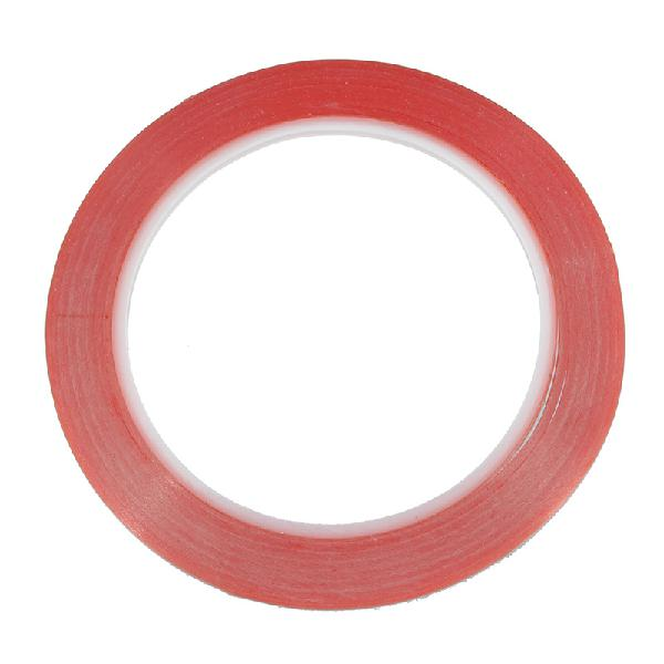 Red double sided adhesive tape sticker mobile phone computer