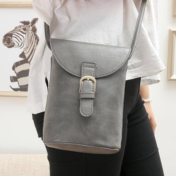 Women large capacity pu leather shoulder bag cross body
