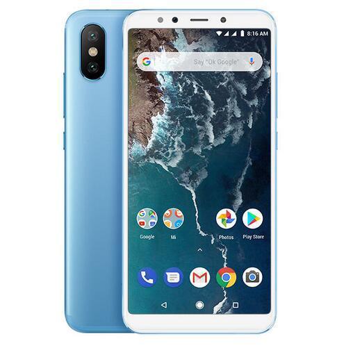Xiaomi mi a2 4+64gb cellphone blue - 0.43kg
