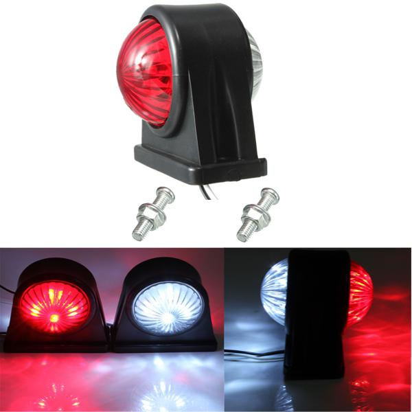 12V E8 E-marked Truck Trailer Lorry Caravan Side LED Light