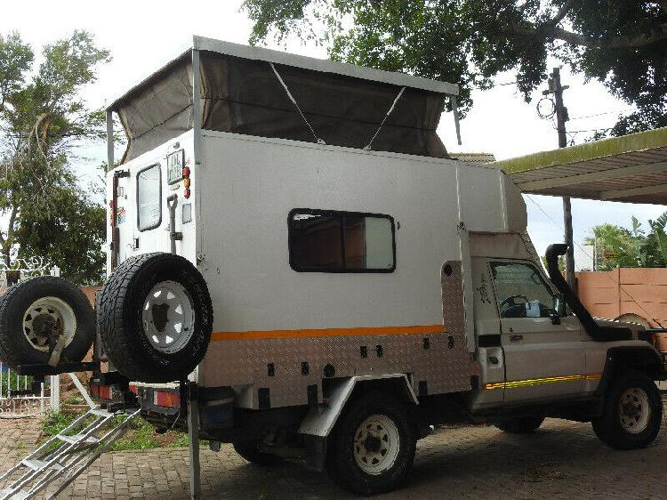 2002 toyota land cruiser camper van