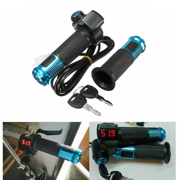 24v 36v 48v scooter ebike electric throttle grip handlebar