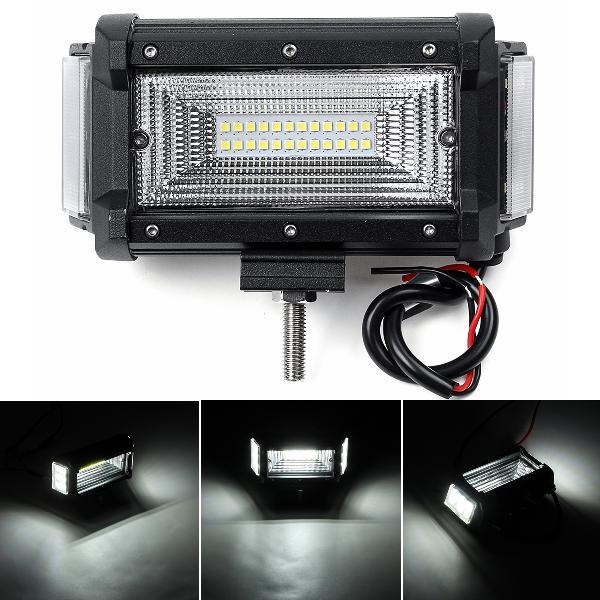 2pcs 5.5inch 40w 40led 3200lm work light waterproof bar