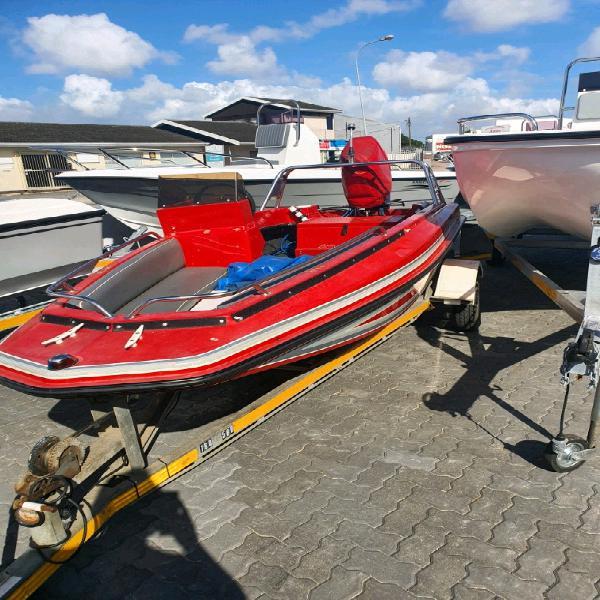 3.8m utility boat