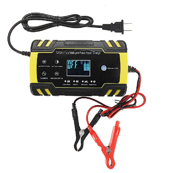 Enusic 12/24v 8a/4a touch screen pulse repair lcd battery
