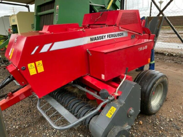 Mf 1839 stampbaler. one owner from new.