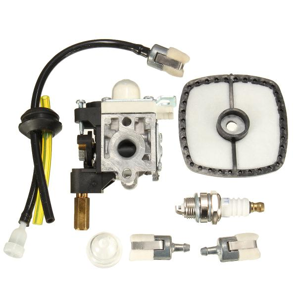 Motorcycle Carburetor With Air Filter Fuel Filter Fuel Line