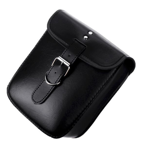 Motorcycle Saddlebags Luggage PU Leather Pouch Bag For
