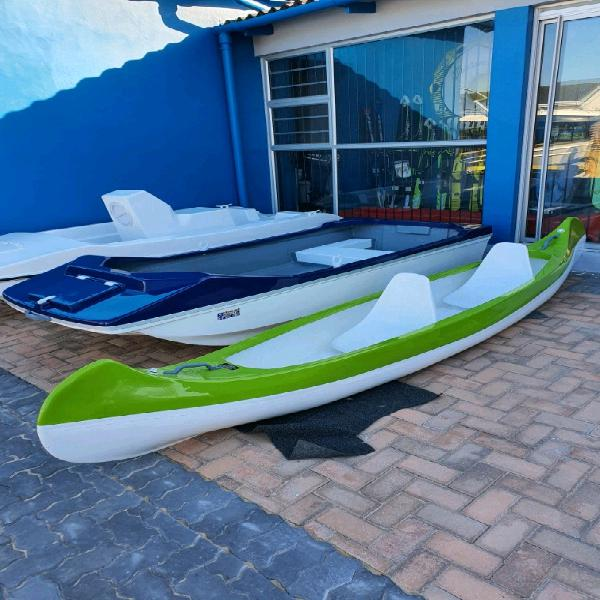 New 2 seater canoes