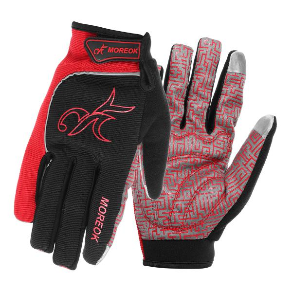 Touch screen gloves for motorcycle scooter bike cycling
