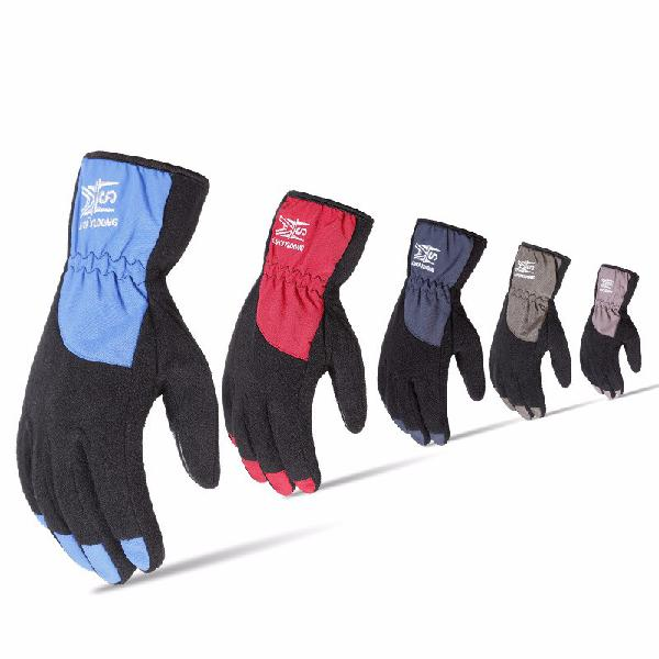 Winter heated gloves riding warm touch screen plus velvet