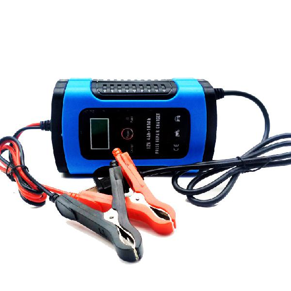 Imars 12v 6a blue pulse repair lcd battery charger for car