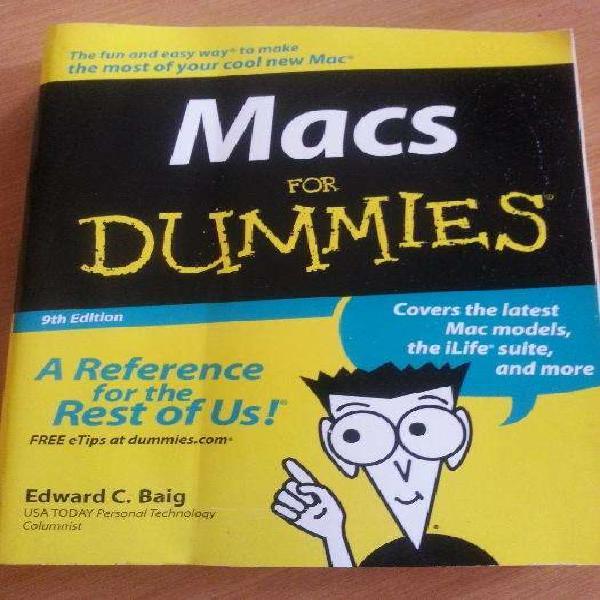 Macs for dummies book 9th ed