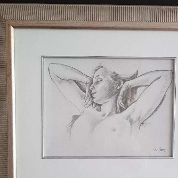 Van hove framed artwork