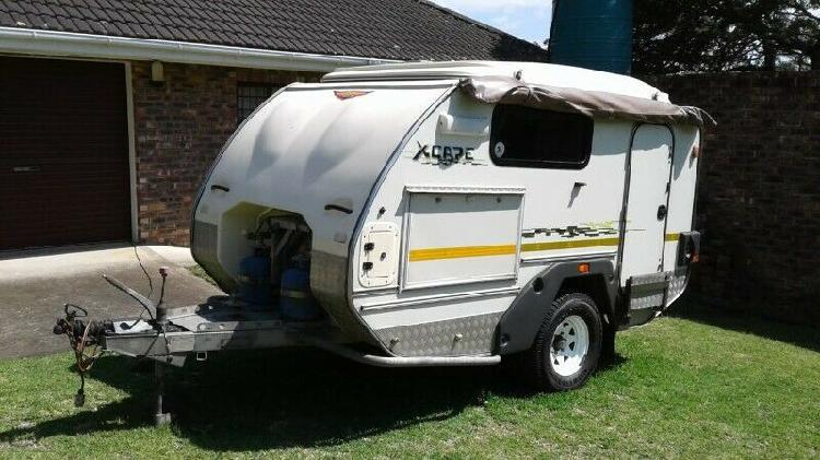 2009 jurgens xcape off-road caravan