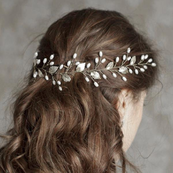 Artio wedding hair vine accessory bridal headpiece for bride