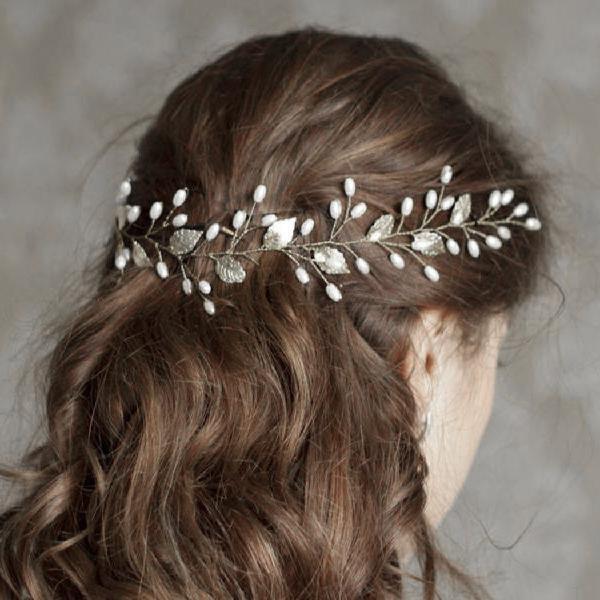 Artio Wedding Hair Vine Accessory Bridal Headpiece for Bride