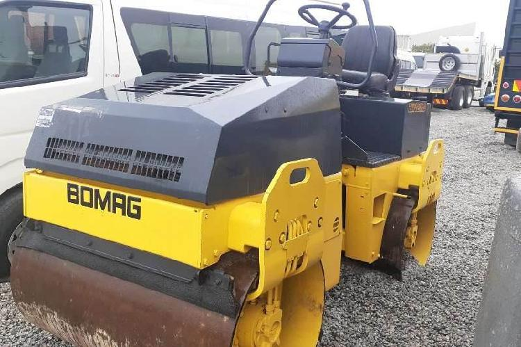 Bomag bw120 ad ride on roller