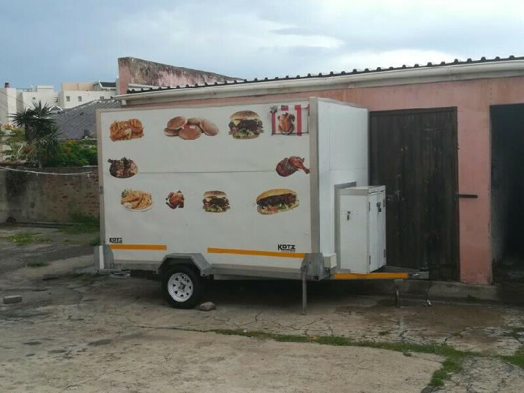 Mobile kitchen business for sale