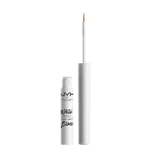 Nyx professional makeup liquid liner, white, 0.07 ounce