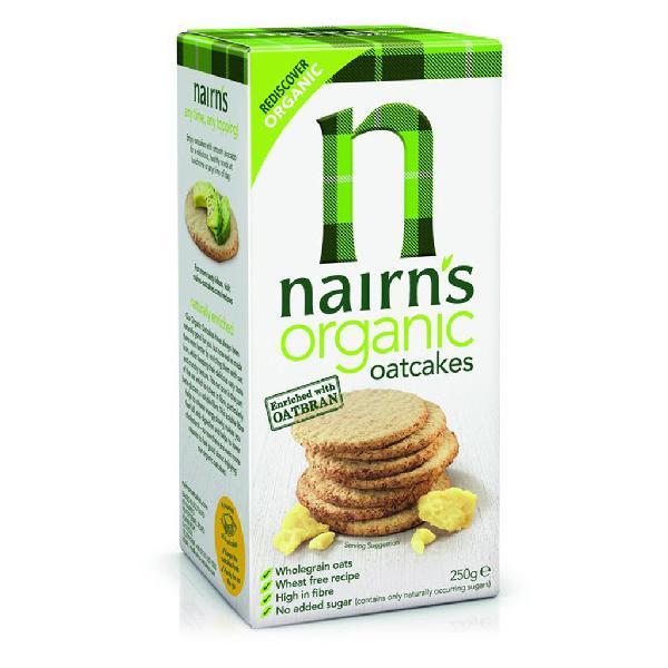 Nairn's Organic Oatcakes 250g - Nairn's 300g