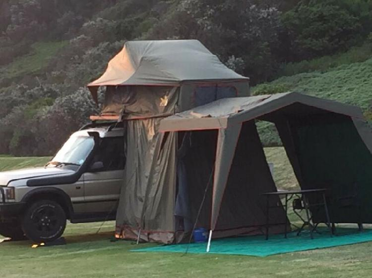 Rooftop tent plus extras