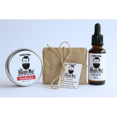 The Bearded Man Premium Starter Kit (Vanilla | Moustache