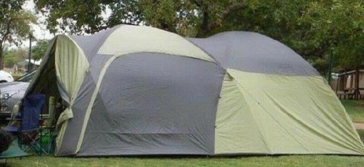 6 sleeper camping tent & camping equipment