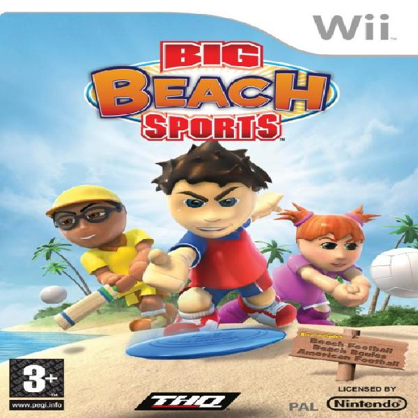 Big beach sports game for wii