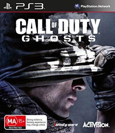 Call of duty: ghosts ps3 / playstation 3 game