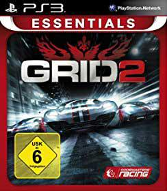 Grid 2 (essentials) game for ps3