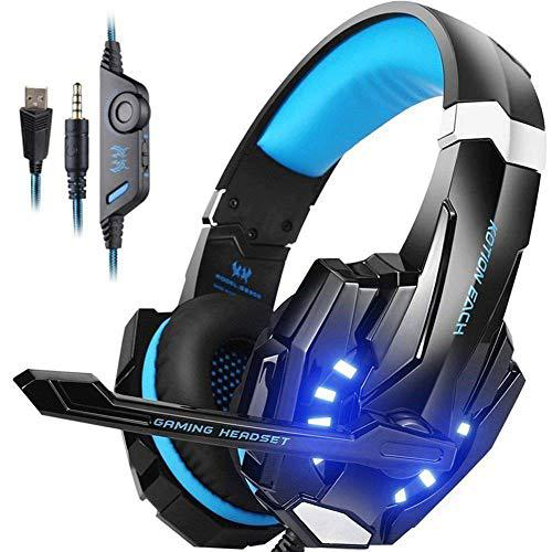 Gaming headset for playstation ps4 3.5mm fortnite headphone