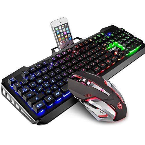 Gaming keyboard and mouse combo,sades gaming mouse and