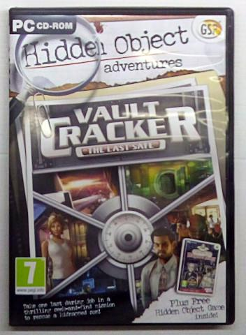 Hidden object adventures vault cracker: the last safe (pc)