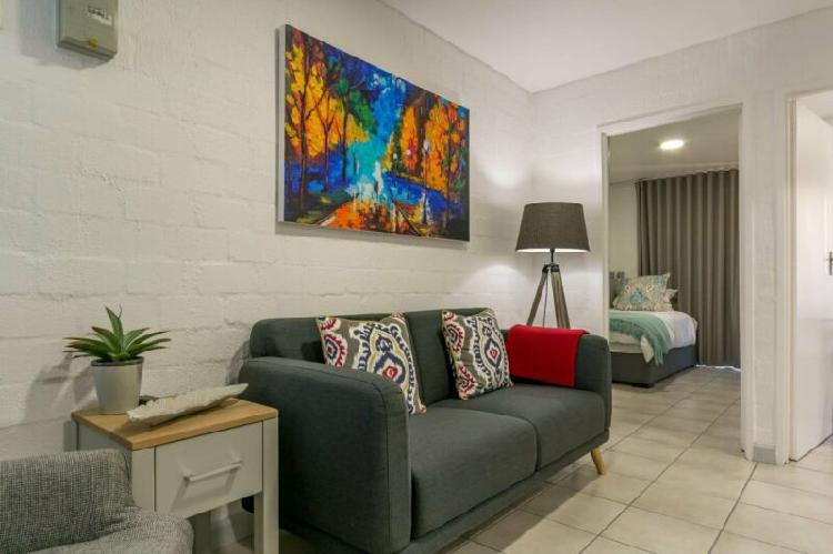 Modern, semi furnished two bedroom apartment available to