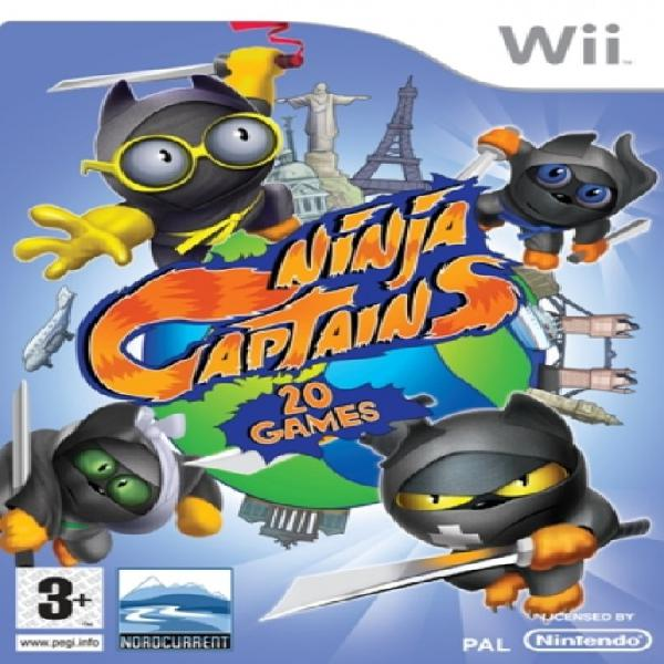 Ninja captains game for wii