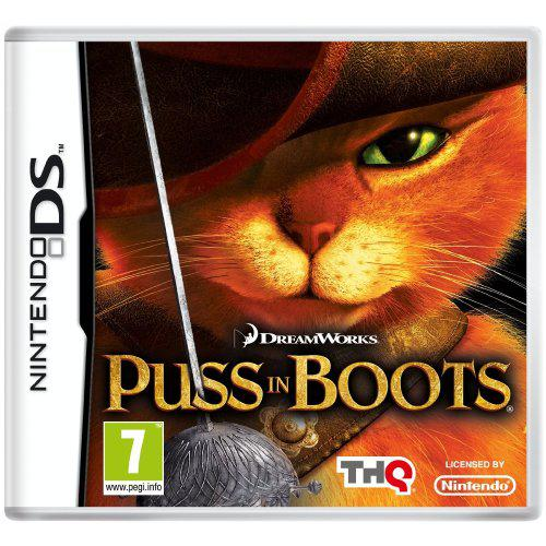 Puss in boots game for nintendo ds