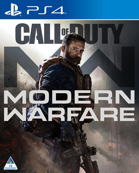 Playstation 4 game call of duty modern warfare