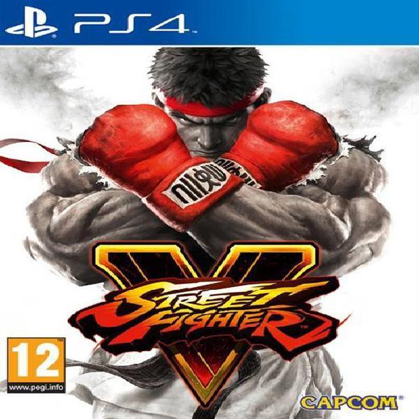 Playstation 4 game street fighter v