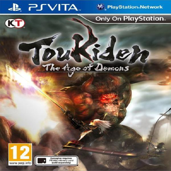 Toukiden (the age of demons) game for playstation vita (ps