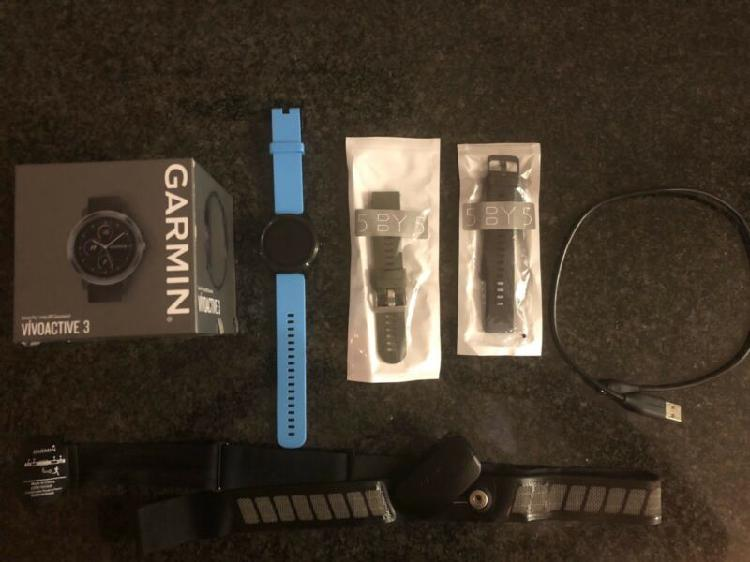 Garmin vivoactive 3 plus heart rate strap for sale