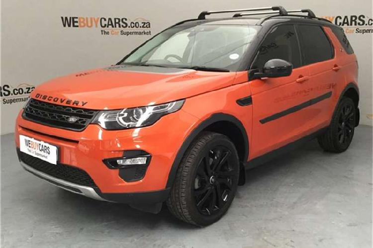 Land rover discovery sport hse sd4 2015