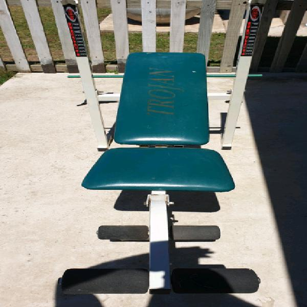 Trojan gym bench