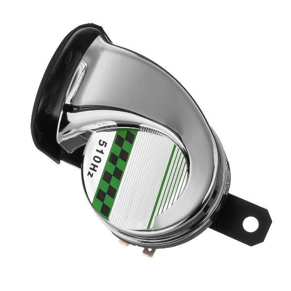12v 130db universal waterproof loud snail air horn siren for