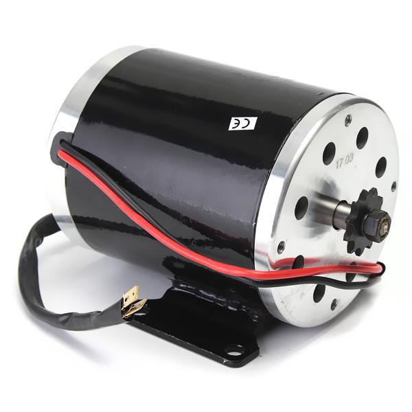 36v 500w my1020 electric brushed motor 2500rpm w/ bracket