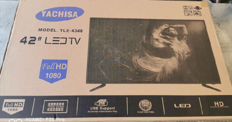 42inch led full hd tv brand new to clear